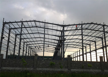 China Q345 Steel Structure Workshop Fabrication For Mechanical Manufacture factory