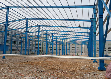 China China manufacturer workshop structure, wind-resistant large-span steel structure workshop factory