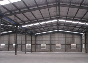 China Professional Structural Steel Warehouse With Sandwich Panel Light Steel Frame factory