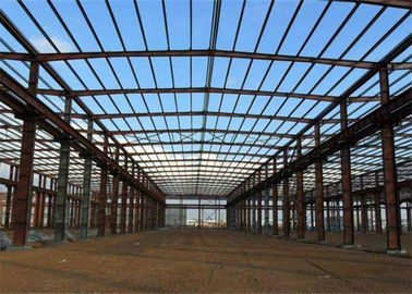 China Prefab Modular Steel Construction , Gable Frame Light Steel Frame Building factory
