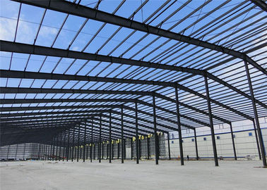 China Mouldproof Steel Structure Construction Custom Design With Office / Steel Stairs distributor