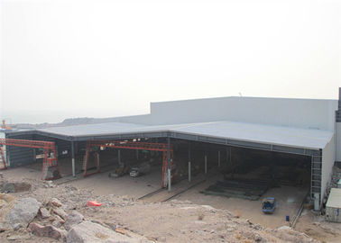 China Prefabricated Steel Structure Construction Pre Built Steel Manufactured Workshop distributor