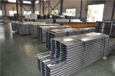 China Lipped Metal C Purlins for Metal Roof , Galvanized Steel Purlins C Section factory
