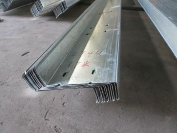 China Galvanized Steel Roof Purlins For Components Construction Warehouse Building distributor
