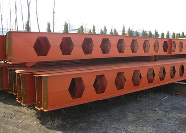 China Honeycomb Structural Steel Beams Q235b Q345b Grade For Main Support factory