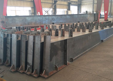 China Roof Metal Support Beam , Castellated Building Steel Beams In H Shape factory