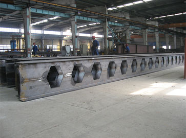 China Fabricated Welded Heavy Structural Steel Construction Materials Prime Hot Rolled Honey Comb Roof H Beams distributor