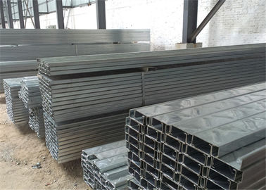 China Building Material Galvanised Steel Purlins Z Section 150 To 300mm For Roofing distributor