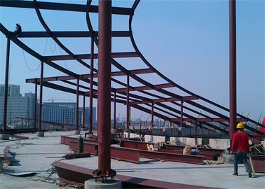 China Anti Corrosion Cracking Architectural Structural Steel For Workshop / Warehouse distributor