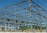 Quick Assembled Prefab Steel Warehouse With Hot Dip Galvanized Frame