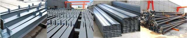 special pipe roof steel structure