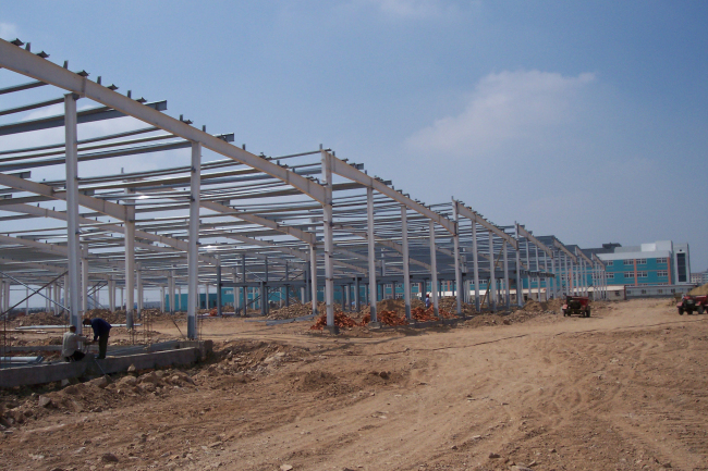 The Fabrication Of Engineer Designed Portal Frame Steel