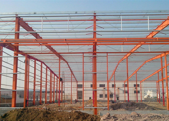 Prefabricated Construction Food Processing Industrial Structure Steel Frame Workshop