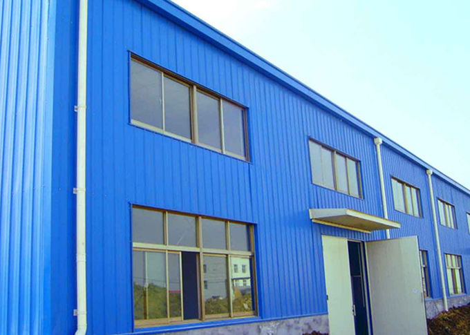 Professional designed and manufacture quick assembly flexible structural steel  workshop