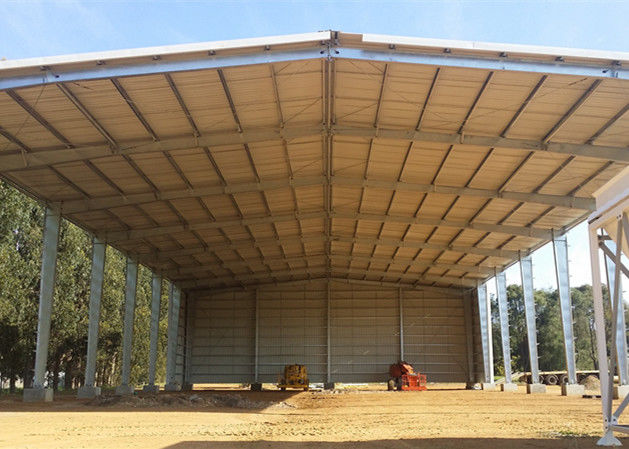 Fast Build Steel Structure Warehouse Shed Galvanized Light Steel Frame