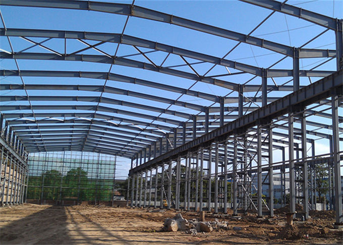 Eco Friendly Pre Manufactured Steel Buildings With Strong Professional Design
